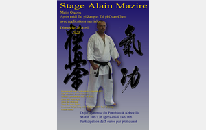 Stage Alain Mazire